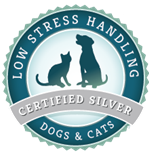 Low Stress Handling Certified Silver for Dogs & Cats