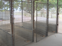 Outdoor kennels